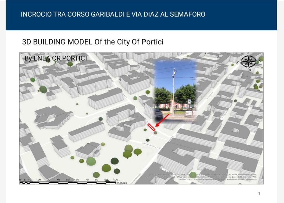 Air Heritage: la selezione dei punti di monitoraggio della qualità dell'aria a Portici